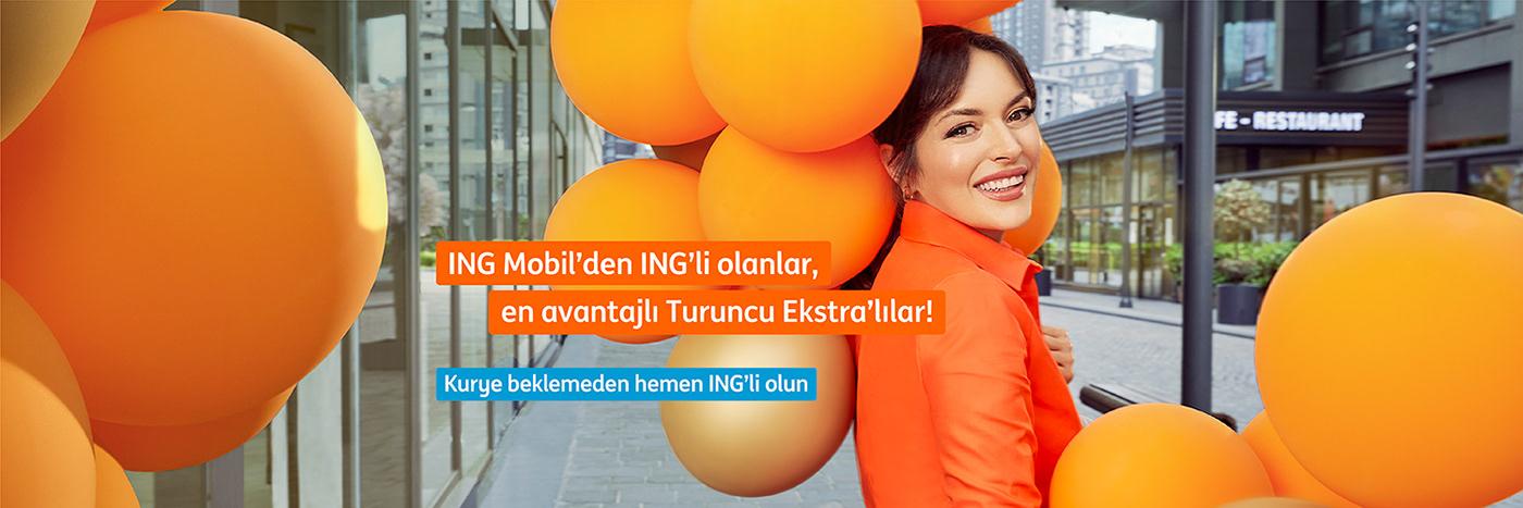 balon Bank banking Ezgi Mola ing bank magazin magazine turuncu turuncu ekstra