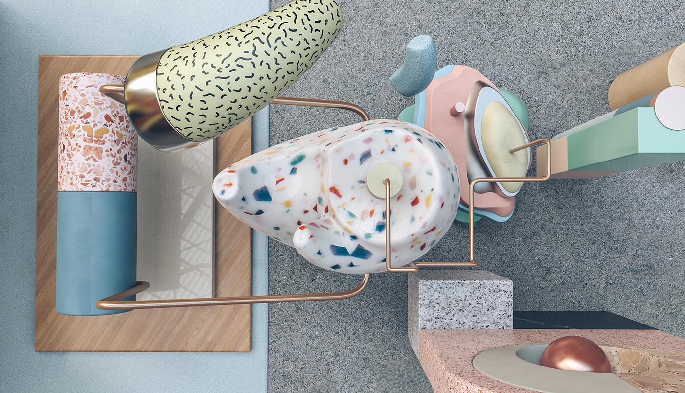 nastplas geometry architecture postmodern lifestyle creative furniture art postmodernism contemporary