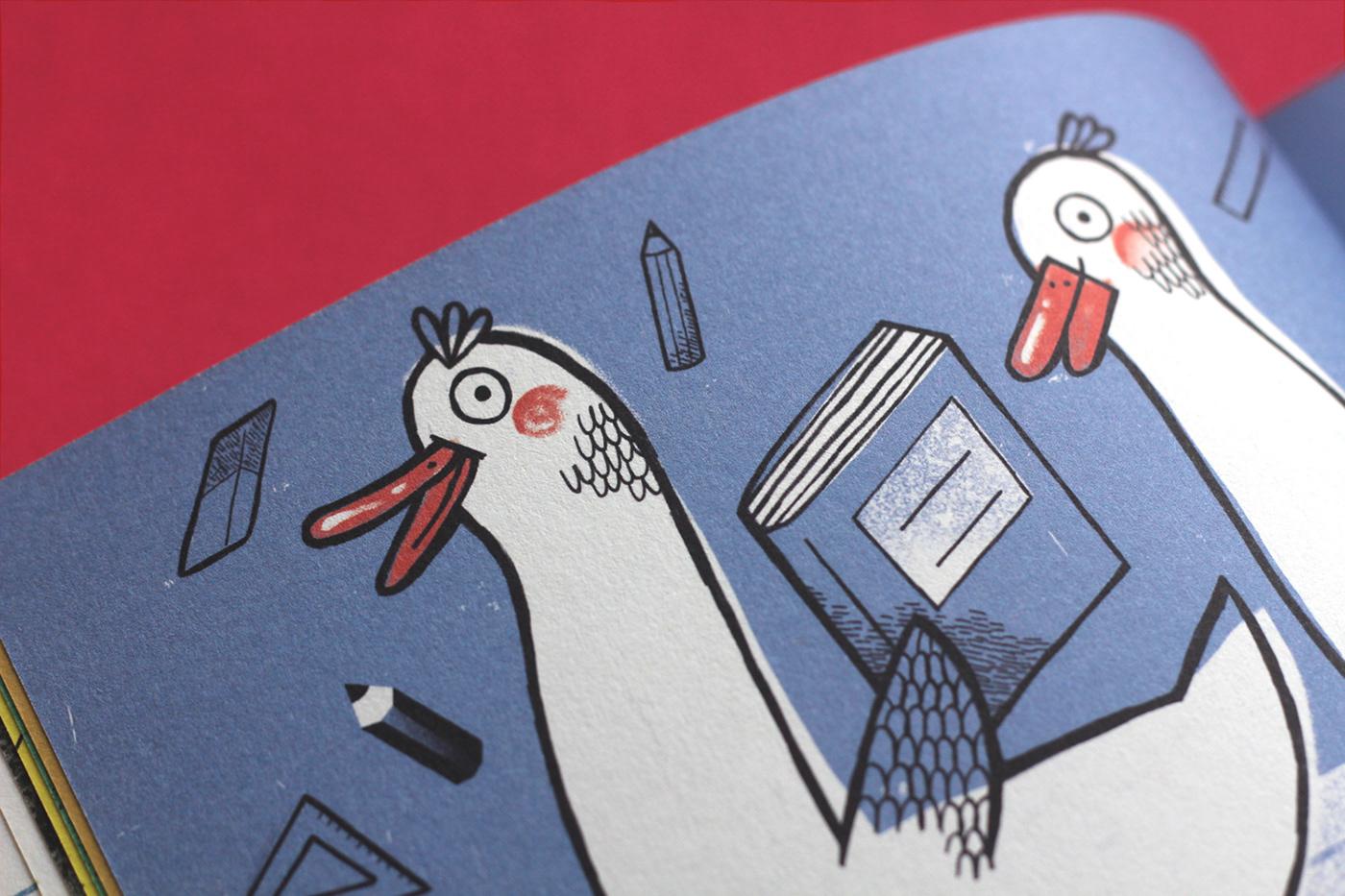 ILLUSTRATION  book graphic design  Publiction