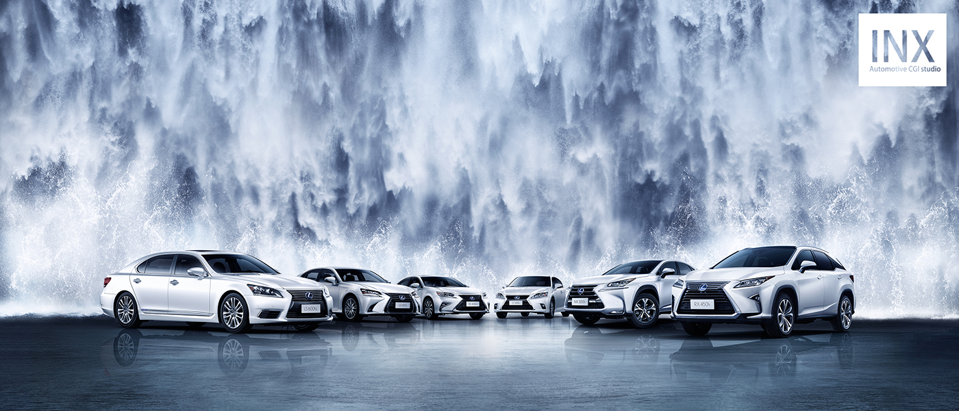 2016 AUTOMOTIVE CGI WORKS on Behance