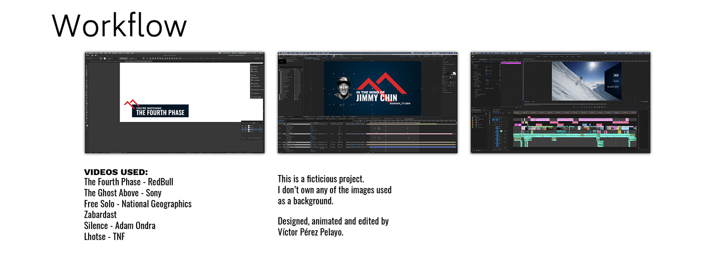 branding tv graphic design  motion graphics  mountain TV TV channel