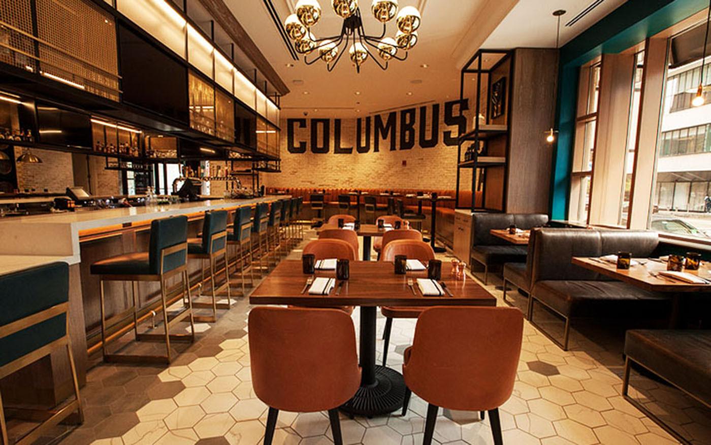 Columbus Tap Chicago Gastropub Millennium Park On Behance