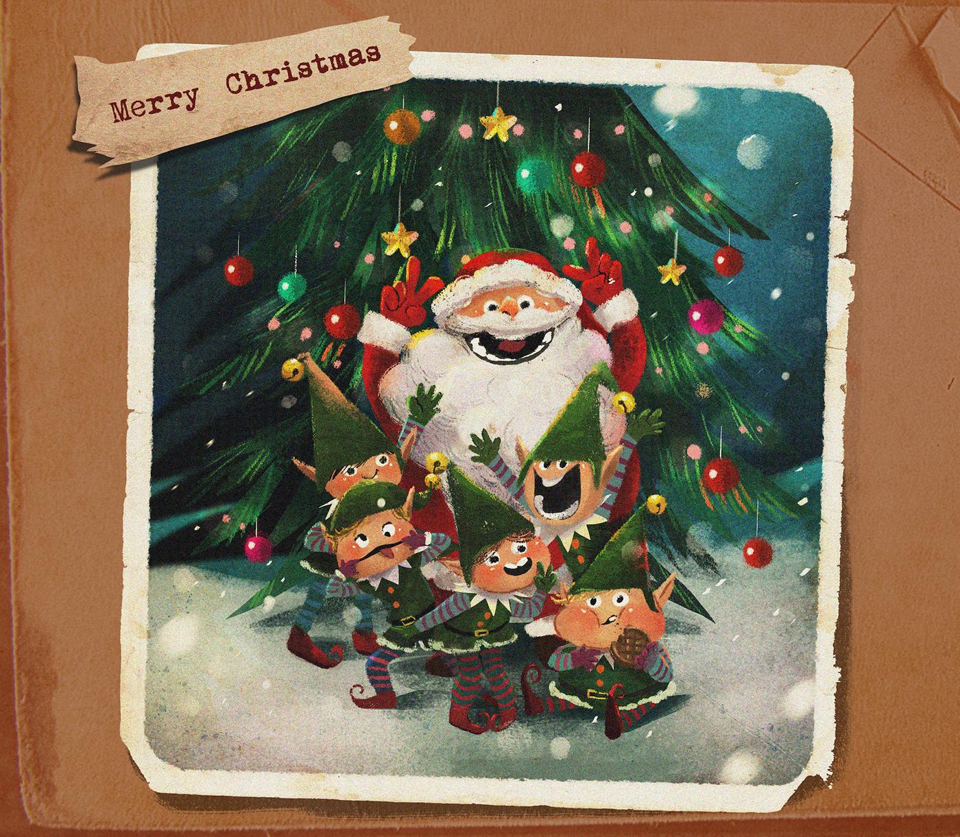 精品的32個聖誕節圖片欣賞