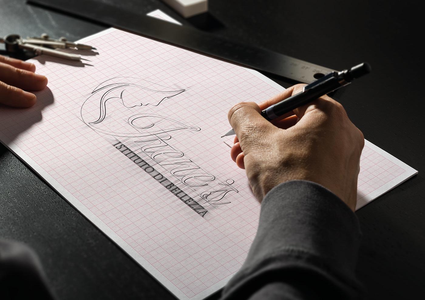 Image may contain: person, handwriting and drawing