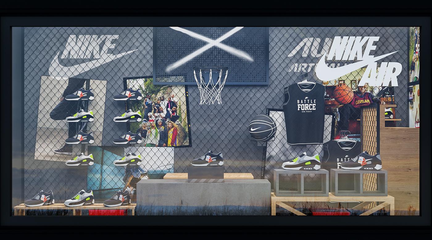 Nike Battle Force Truck So Paulo On Behance Thank You