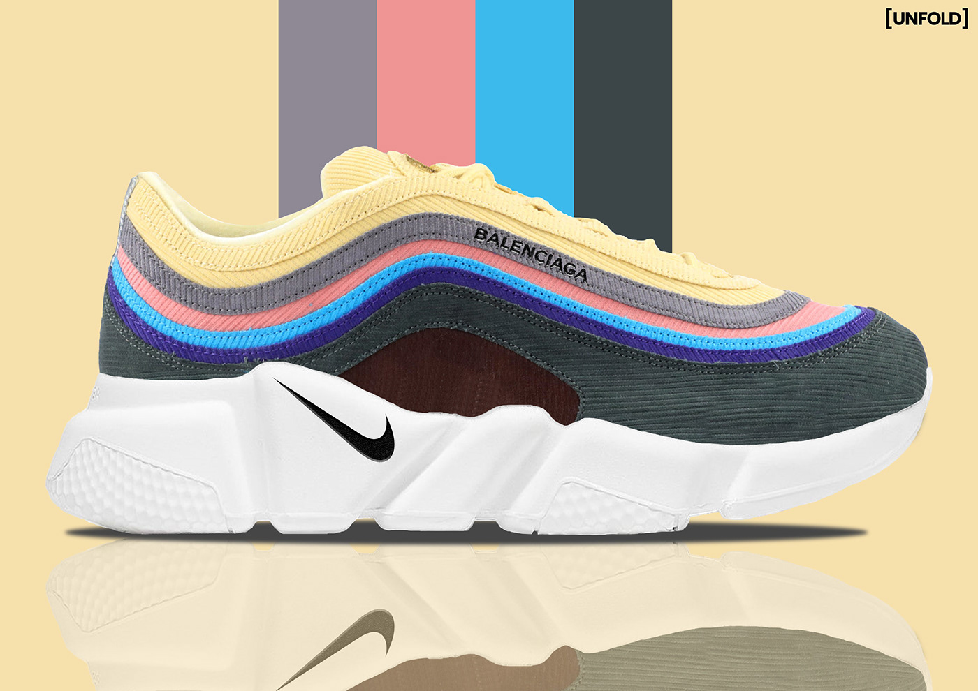 Speed Behance Balenciaga X Nike Wotherspoon 197 On Max Sean Air 6g7vIYbfy