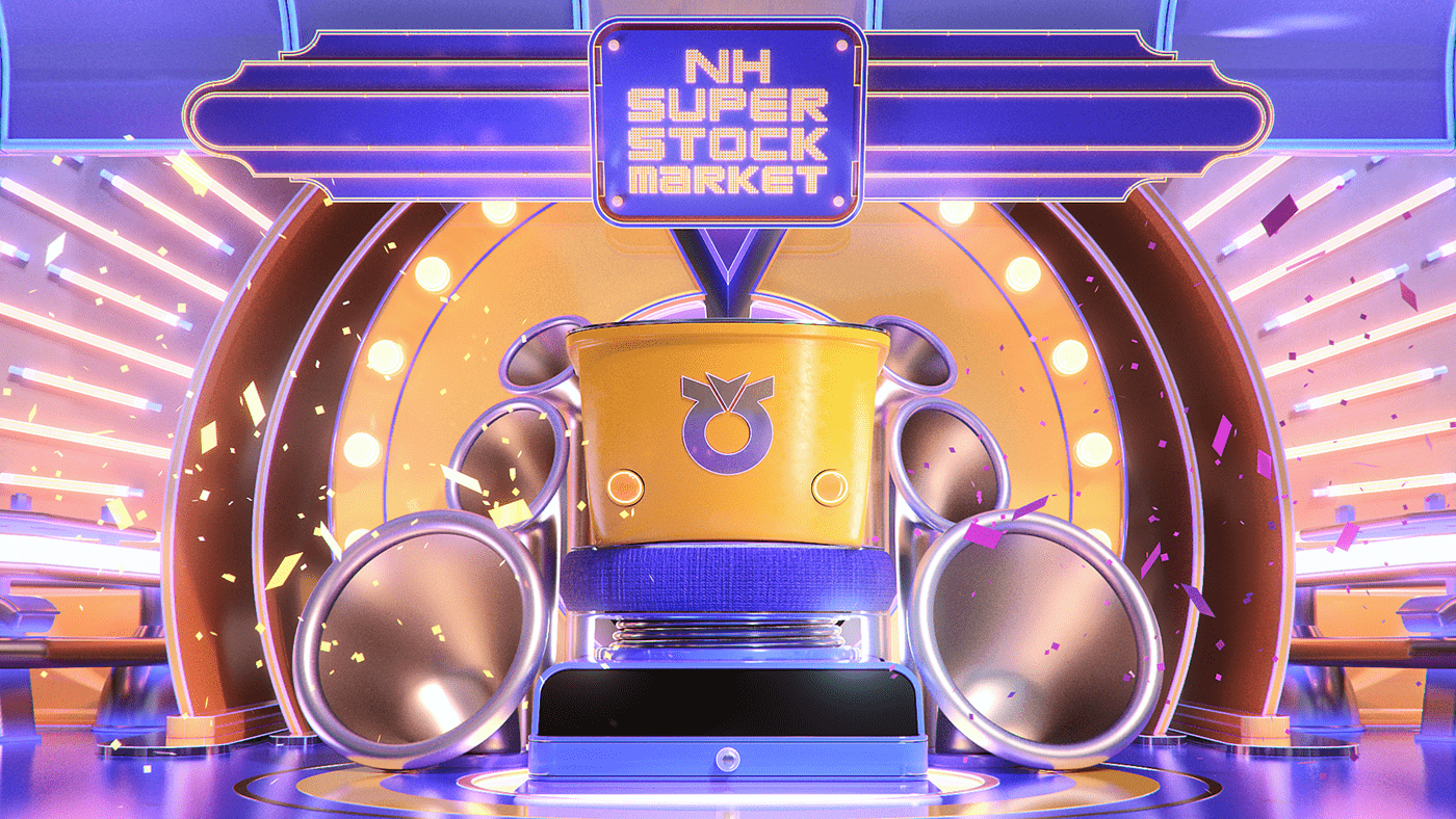 branding  Investment Korea NH Securities woot