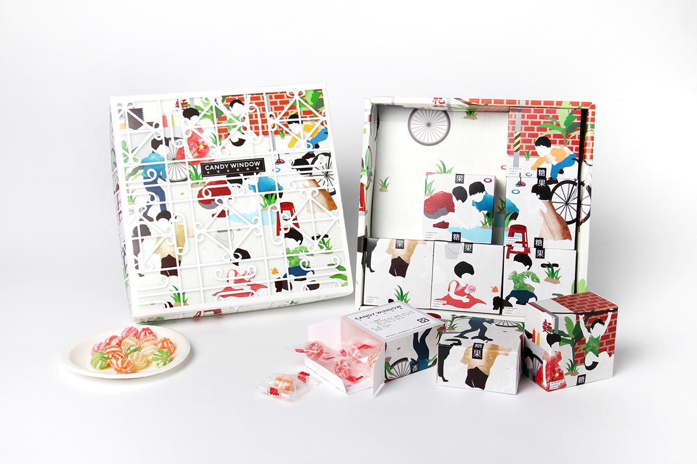 有設計感的19套糖果包裝設計欣賞