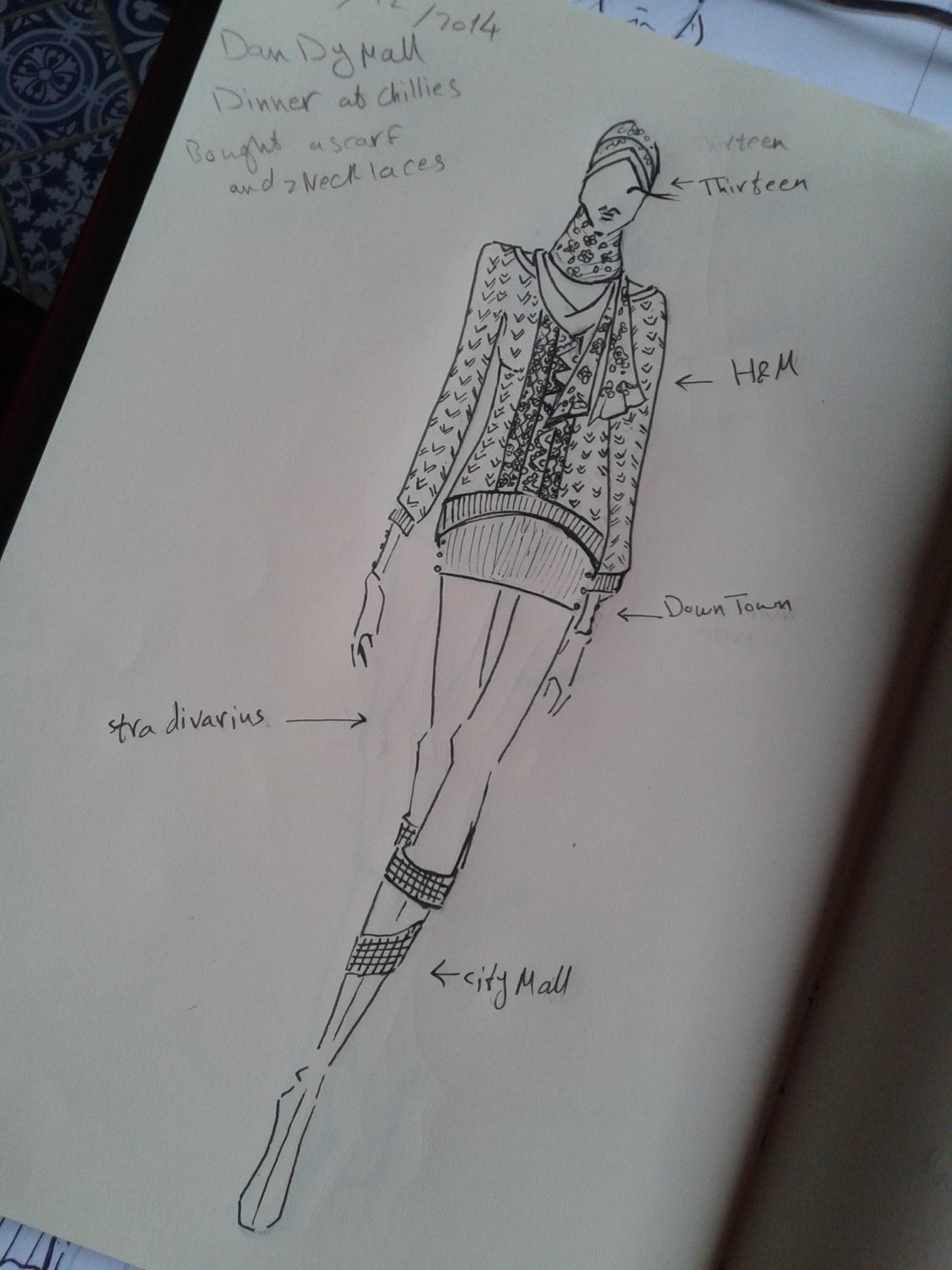 精緻的35套衣服設計圖欣賞