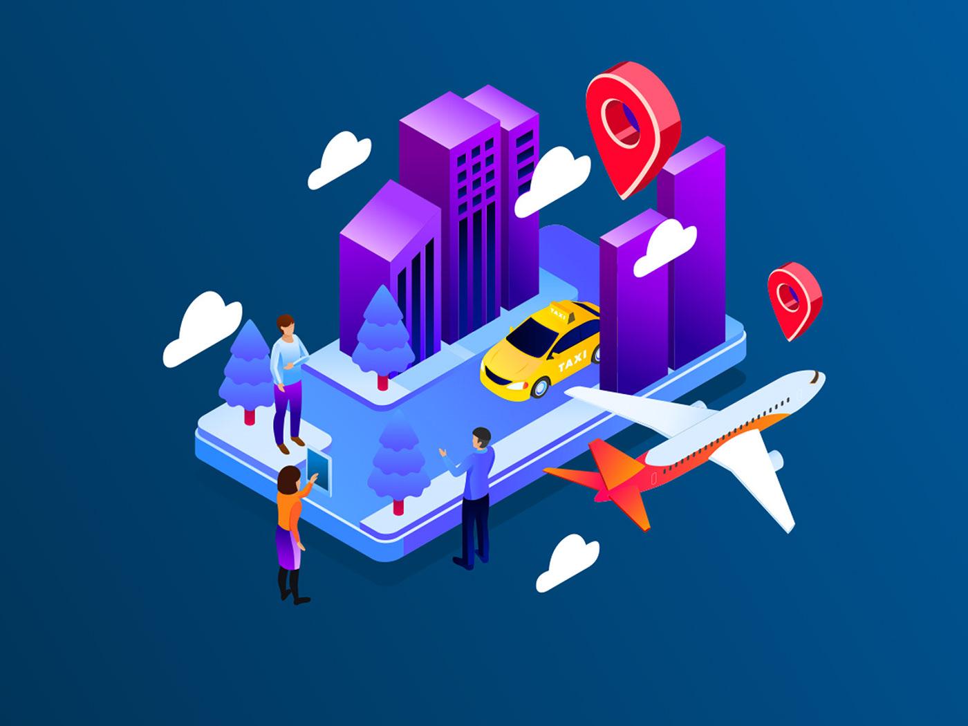 Character freebie gps illustration GPS tracking ILLUSTRATION  Illustrator vector vector design vector download Vector Illustration