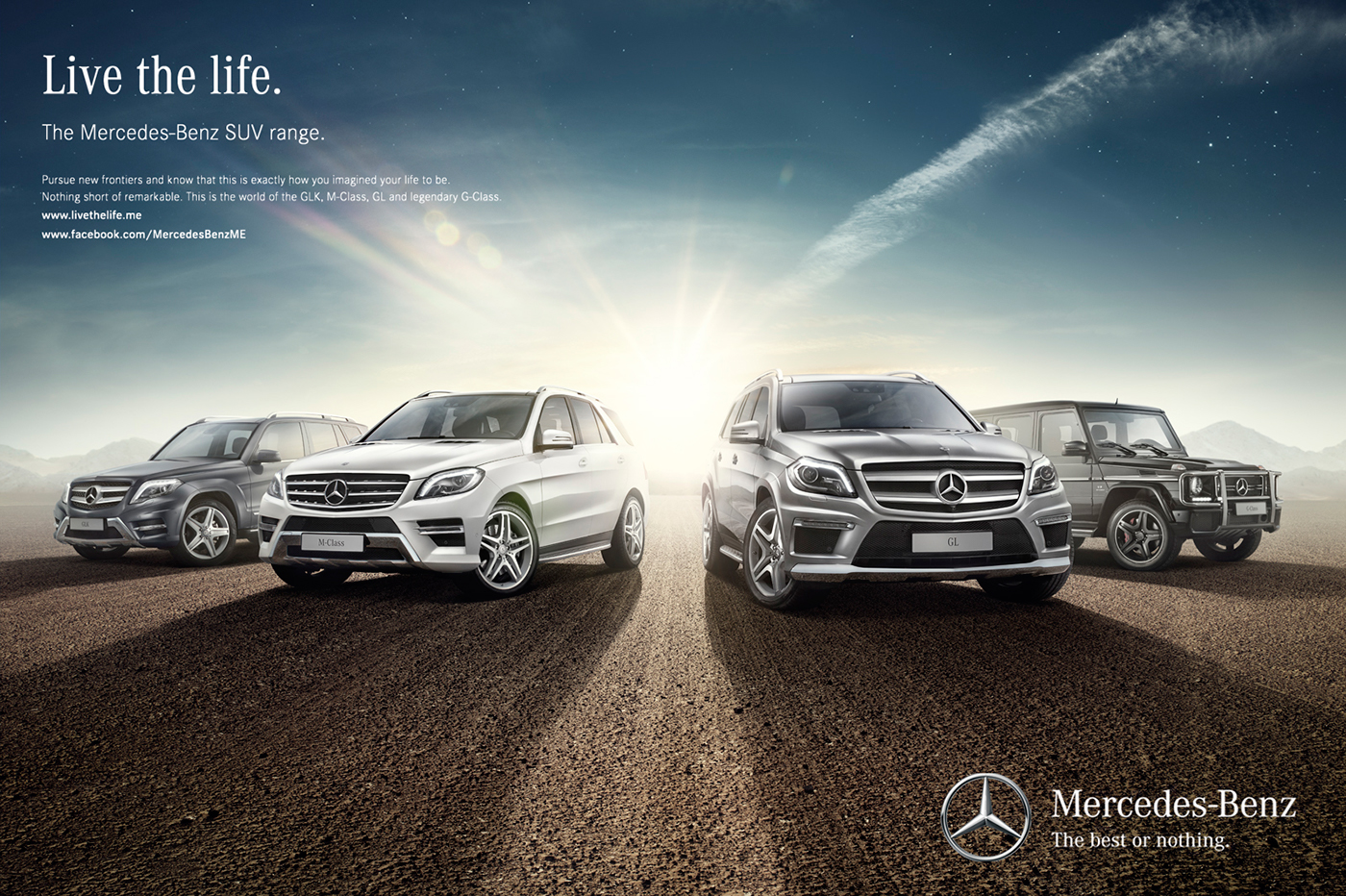 Mercedes benz suv cars campaign on behance for Mercedes benz cars photos