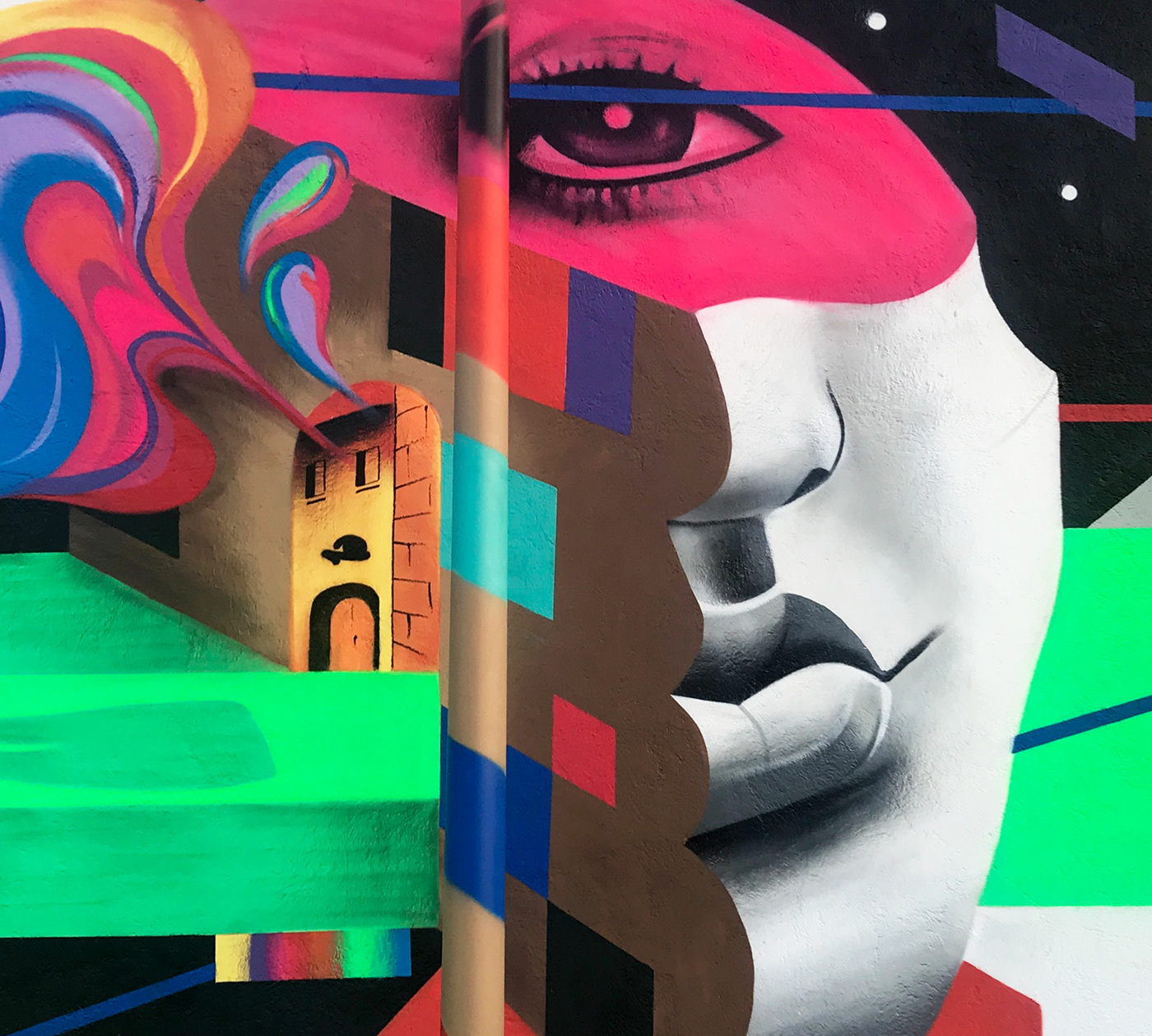 Street Art  Mural Gender equality women art video women rights equality female urban art