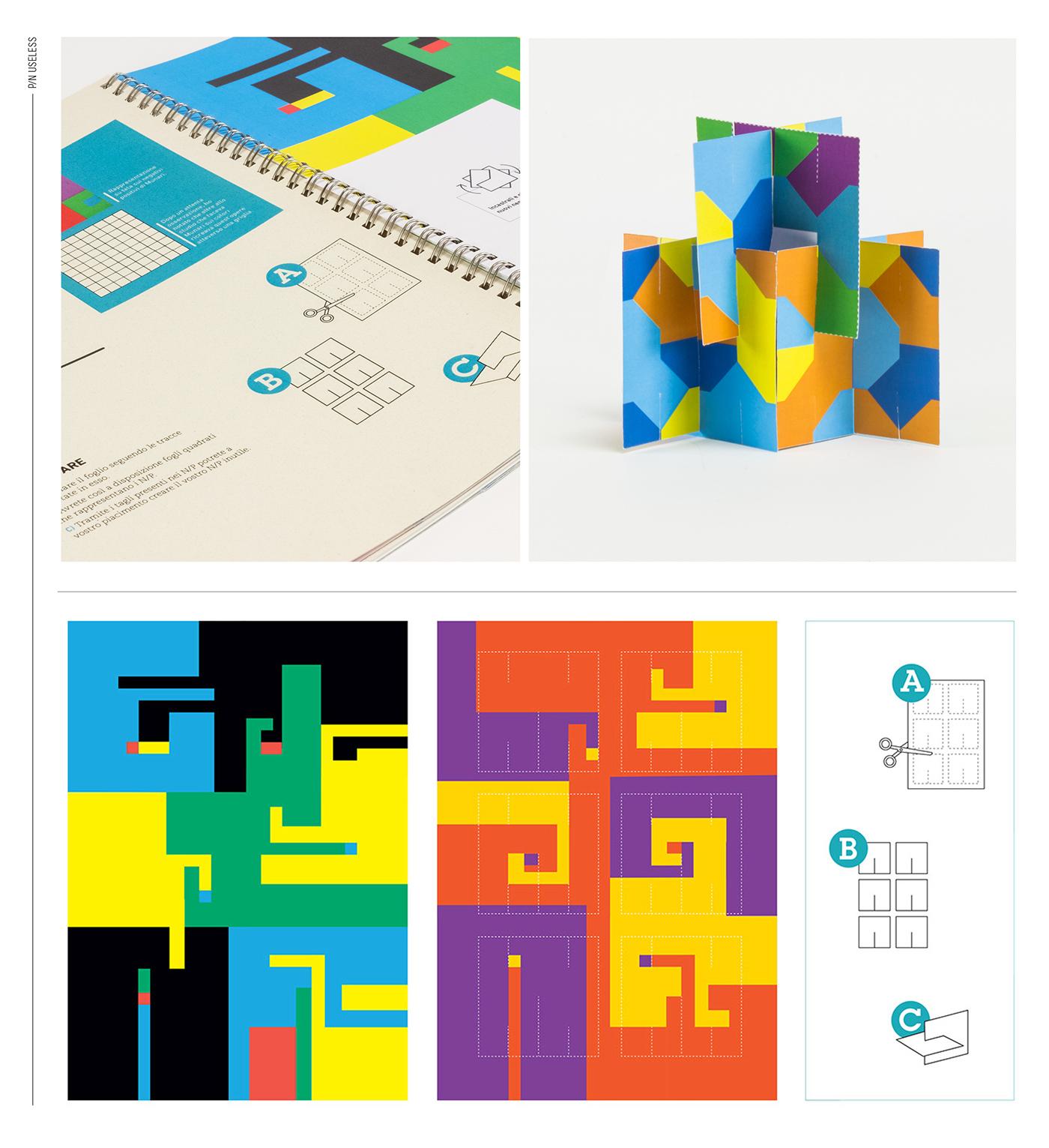 Experimentation folder cartons paper craft #inspire creative inspire