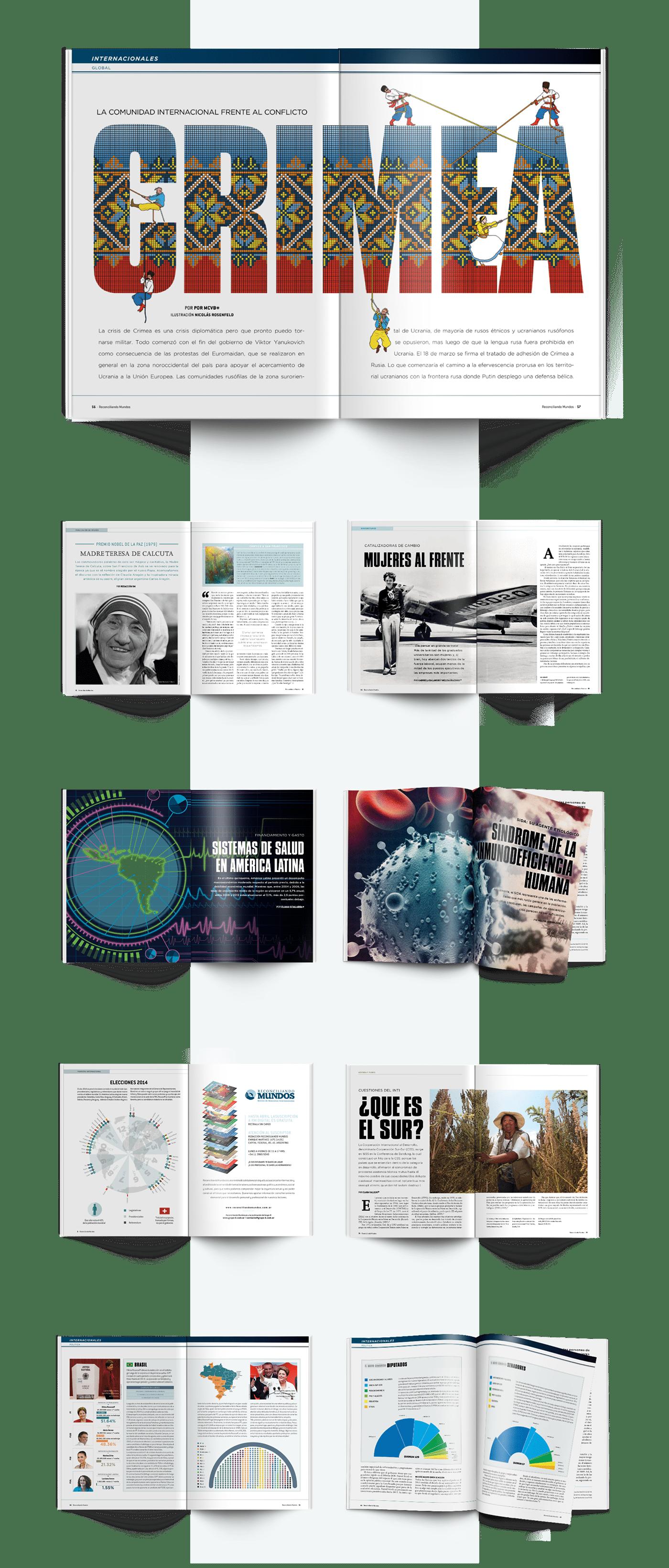 editorial diseño gráfico magazine revista cover tapa ilustraciones ILLUSTRATION  art direction  politics