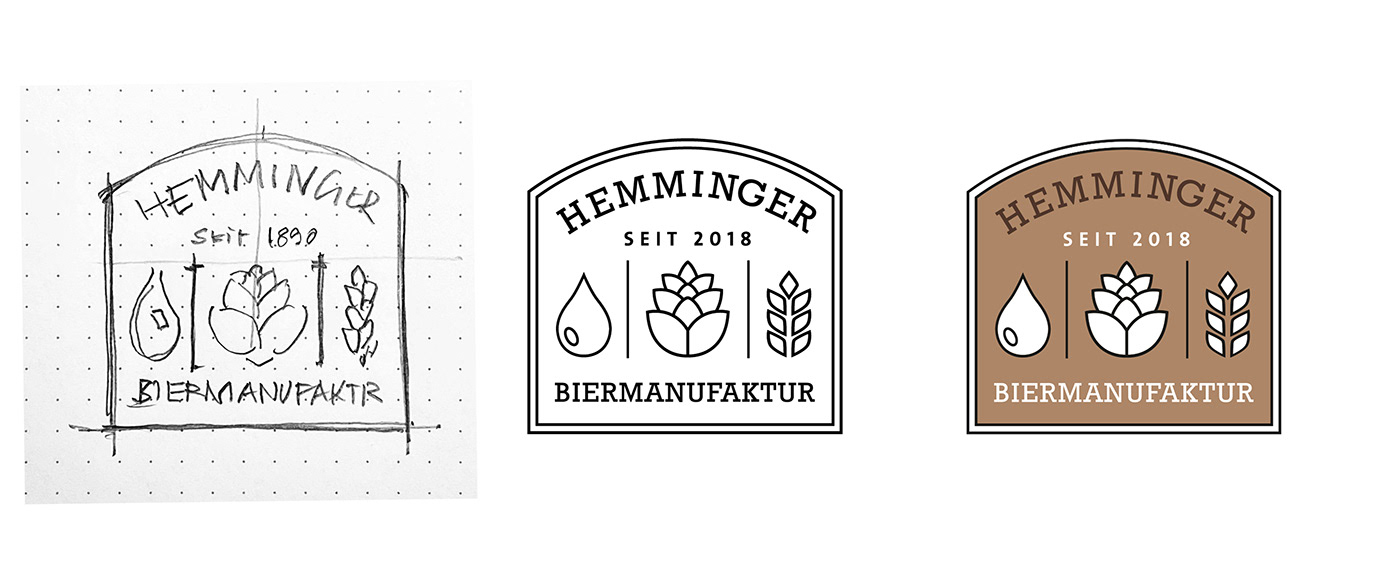branding  brewery Corporate Design logo Packaging beer Bier craft beer identity Label