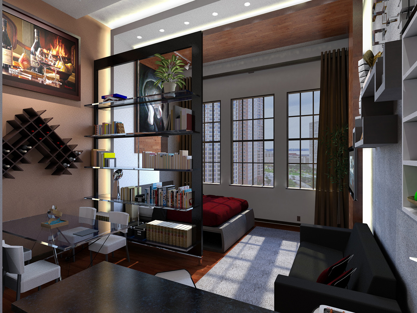 Advanced Interior Rendering On Behance