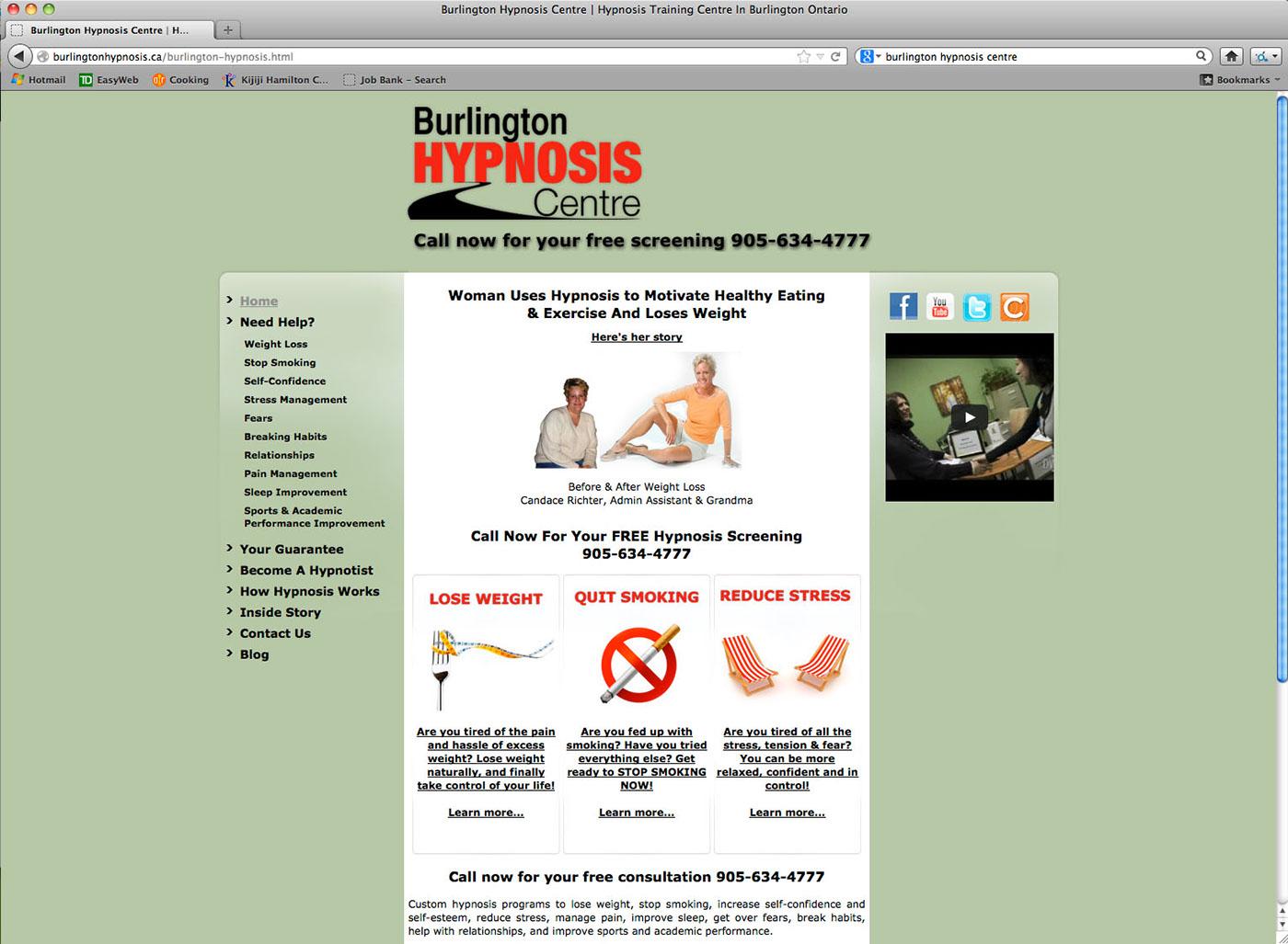 Burlington Hypnosis Centre on Behance