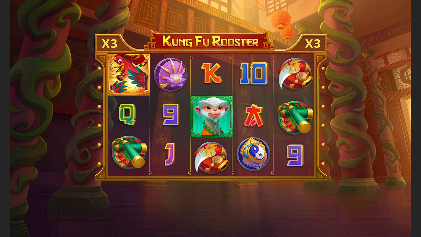 Kung Fu Rooster No Download Slot