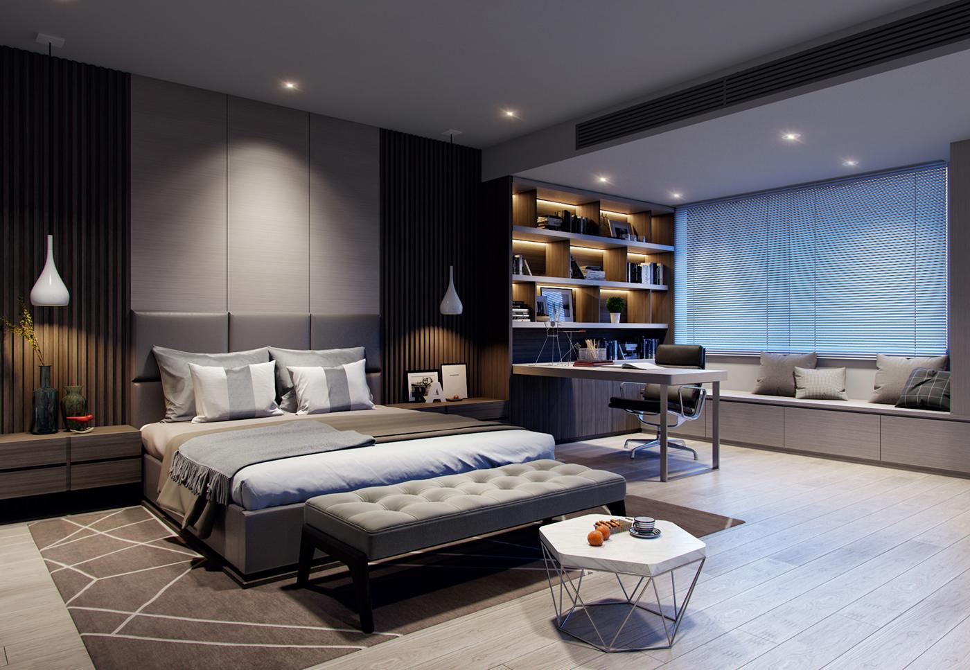 有美感的44套臥室設計欣賞