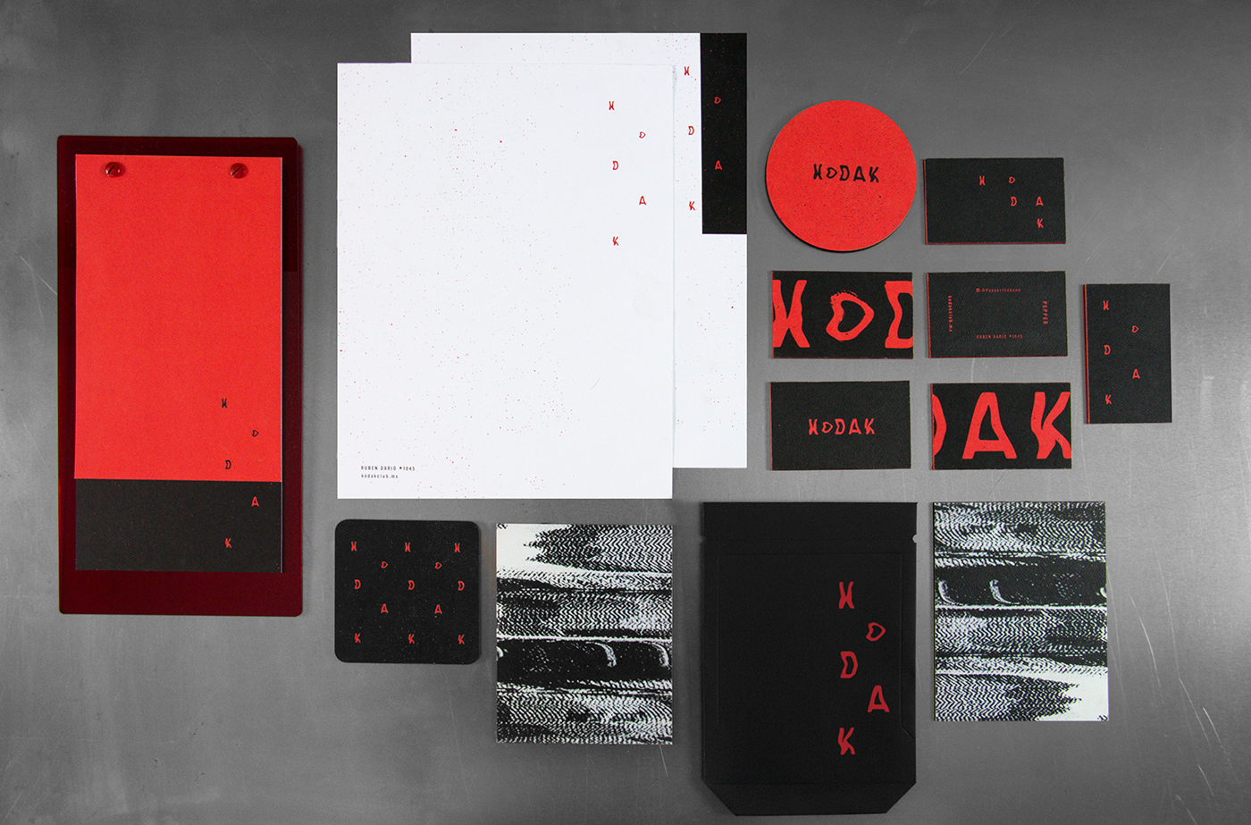 Visual Identity and Graphic Design for Kodak
