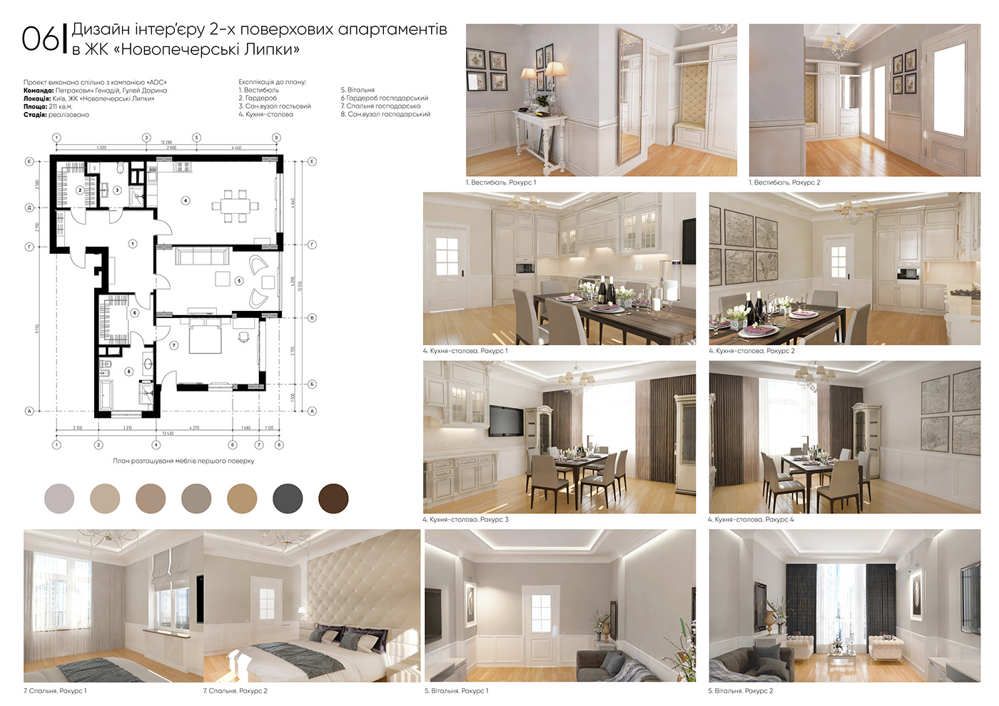 3dmax apartment ArchiCAD architecrute architect AutoCAD designer interiordesign luxury photoshop