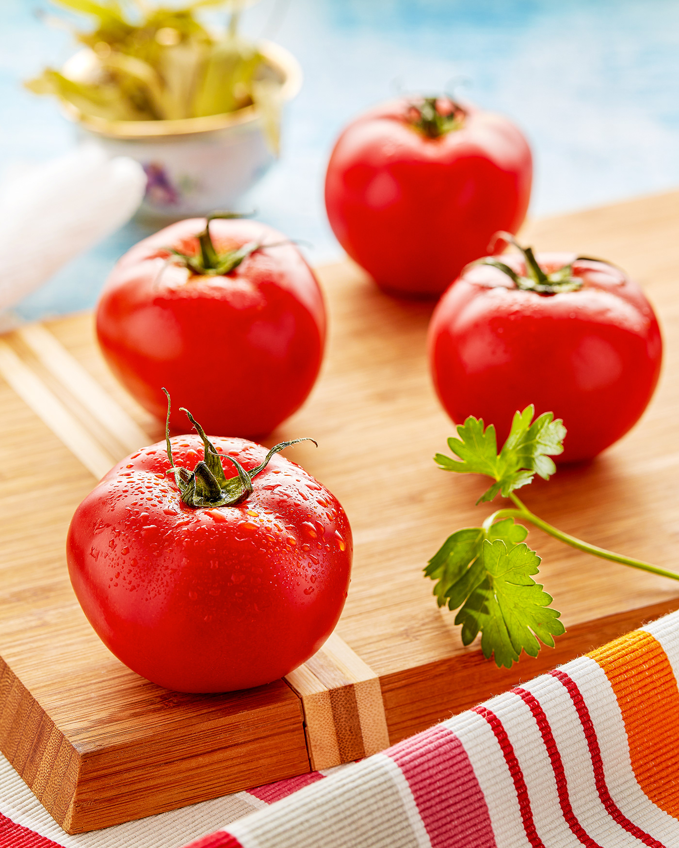 Advertising  commercial Food  food photography kitchen Tomato