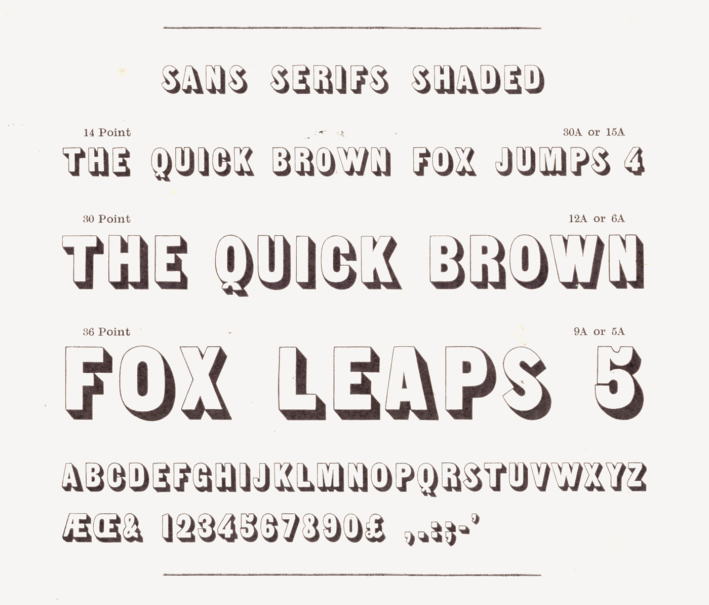 free font grotesk shaded Typeface vintage revival Retro poster Display