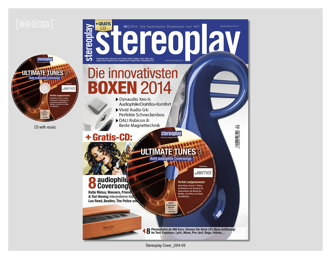 COVER-DESIGN STEREOPLAY on Behance