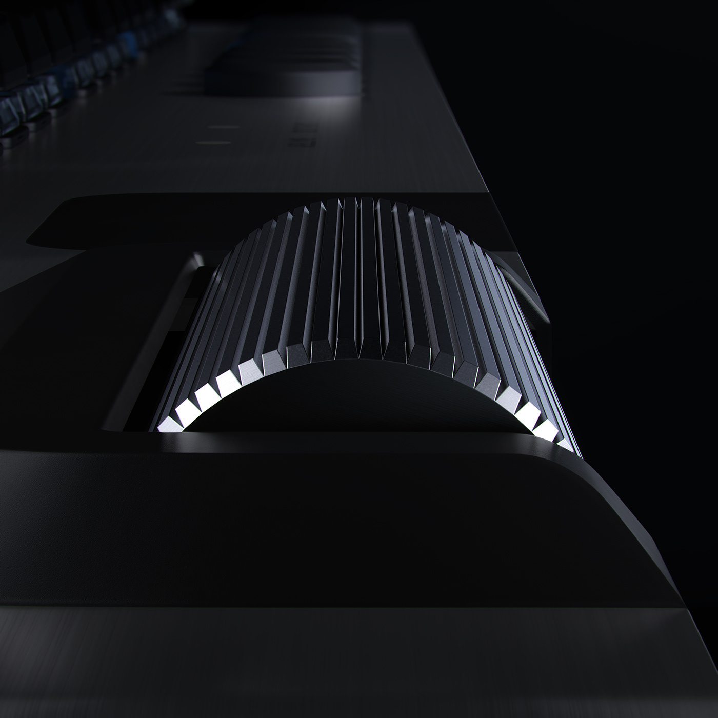3D 3d design animation  cinema4d design g915 houdini keyboard Logitech motion