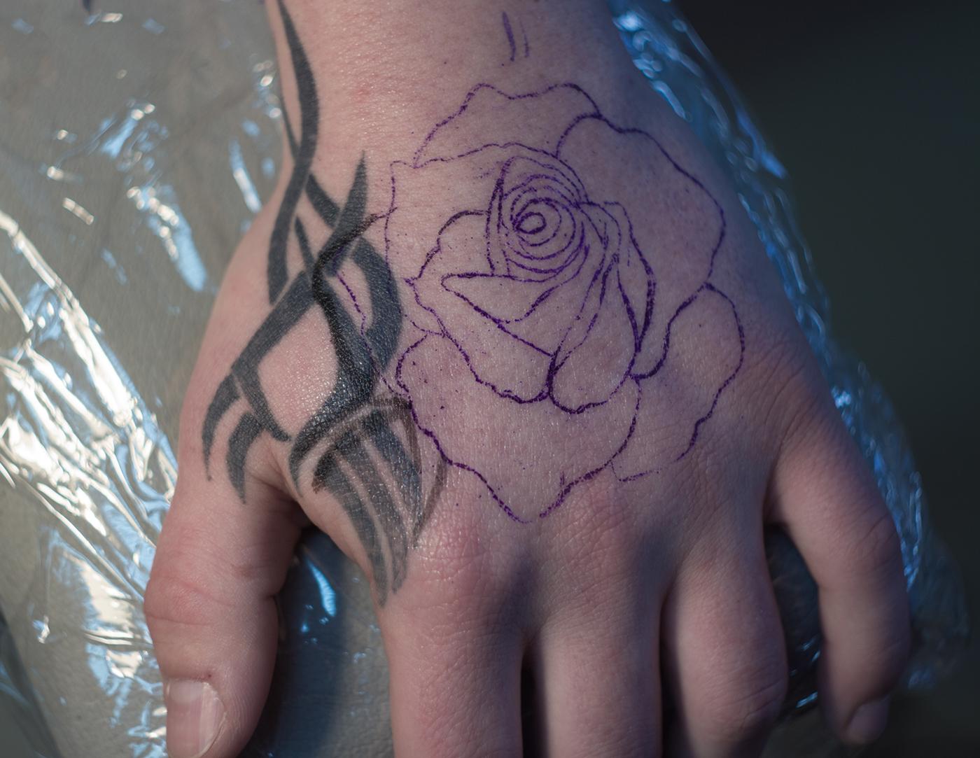 極美的33套玫瑰花刺青欣賞