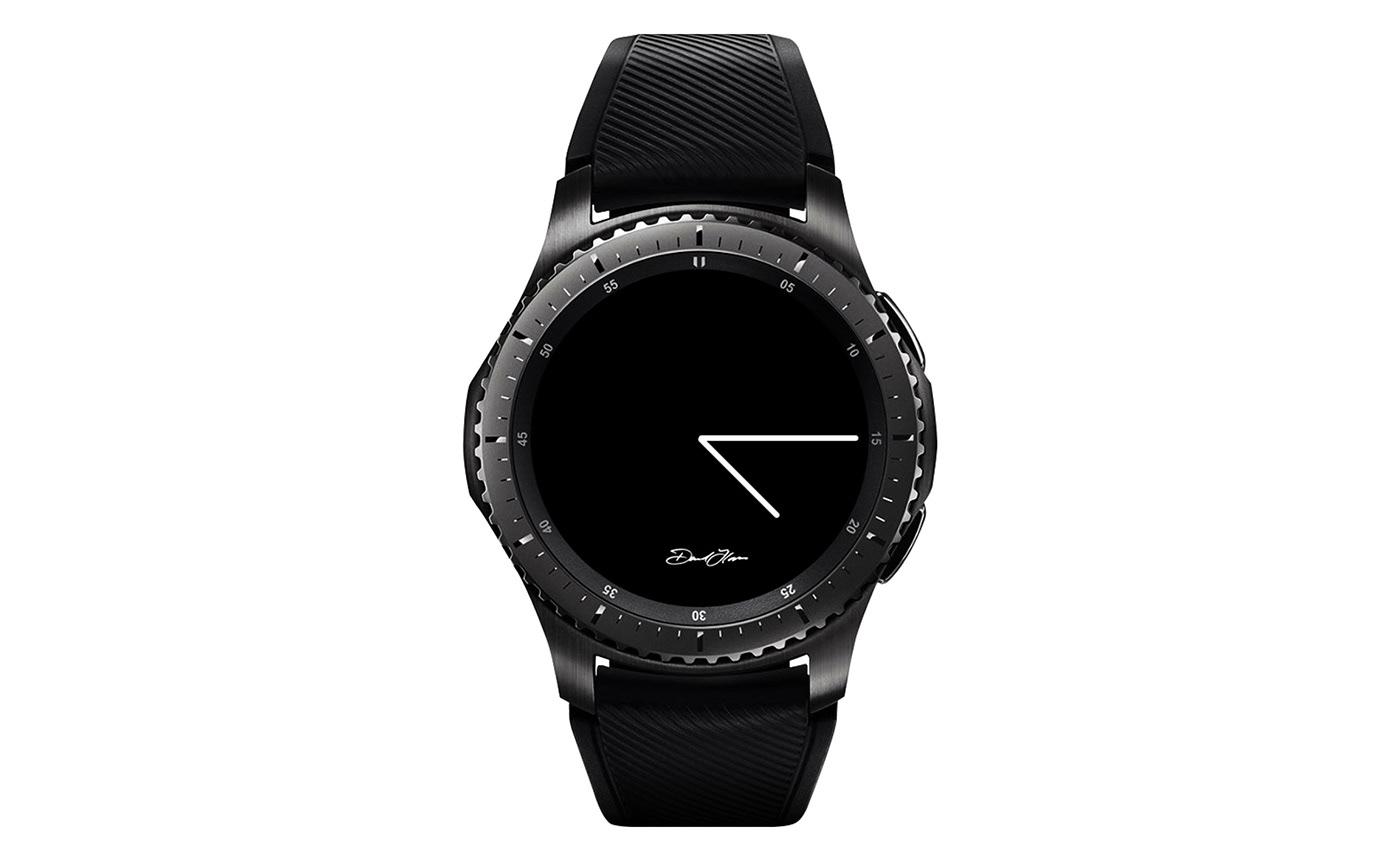 MRTIME watchface Smart watch ux UI portfolio Digital Contents Wearable David Flores