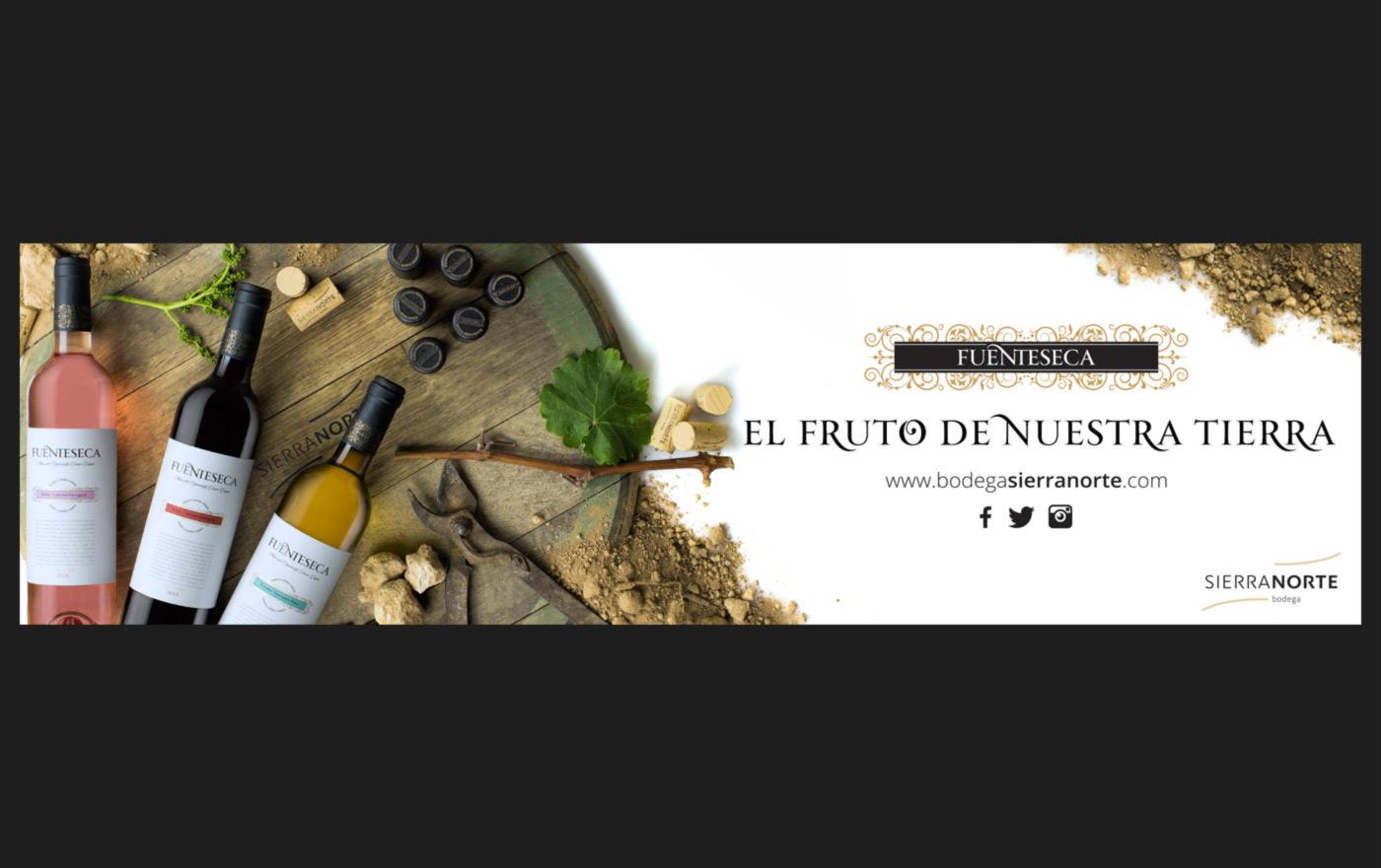 wine vino ADV publicidad Anúncios sierra norte Advertising  Fotografia producto