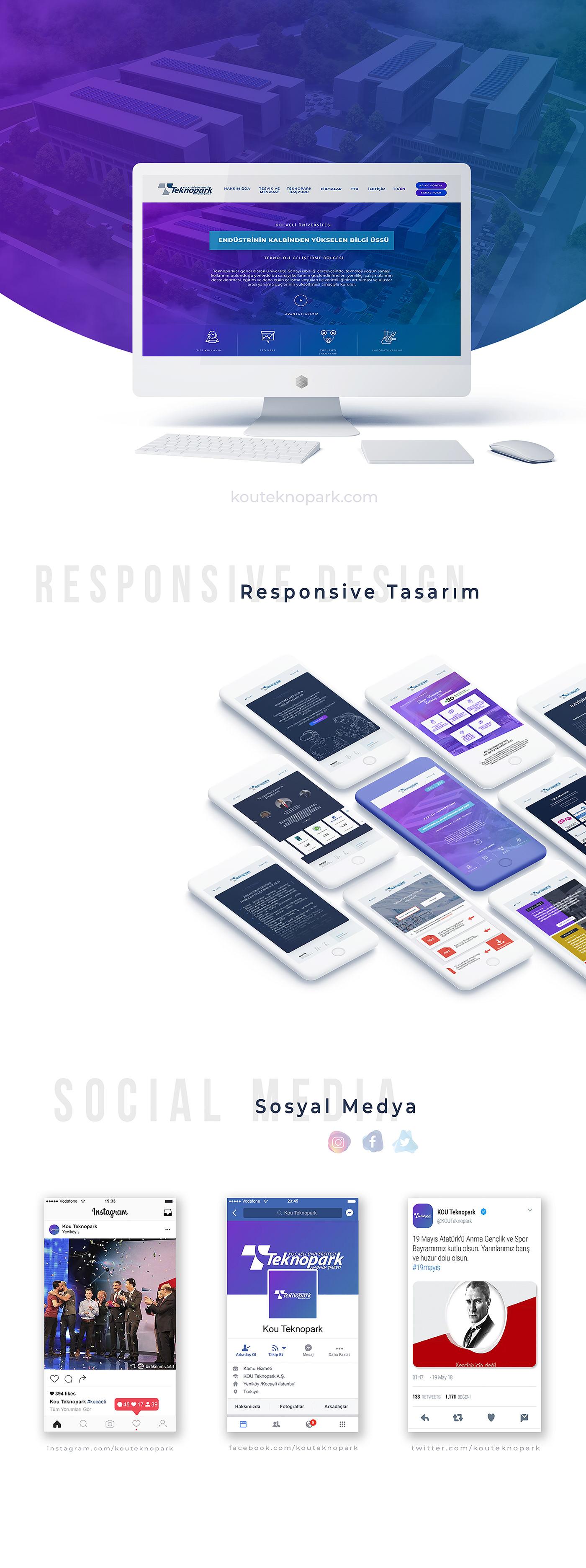 UI ux Responsive Socialmedia Website video