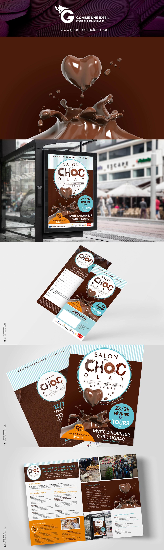 Agence de communication, affiche, création campagne affichage, affiche salon www.gcommeuneidee.com