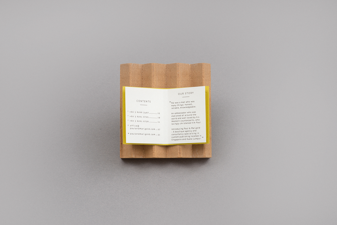 business card book foreign policy design singapore Identity Design