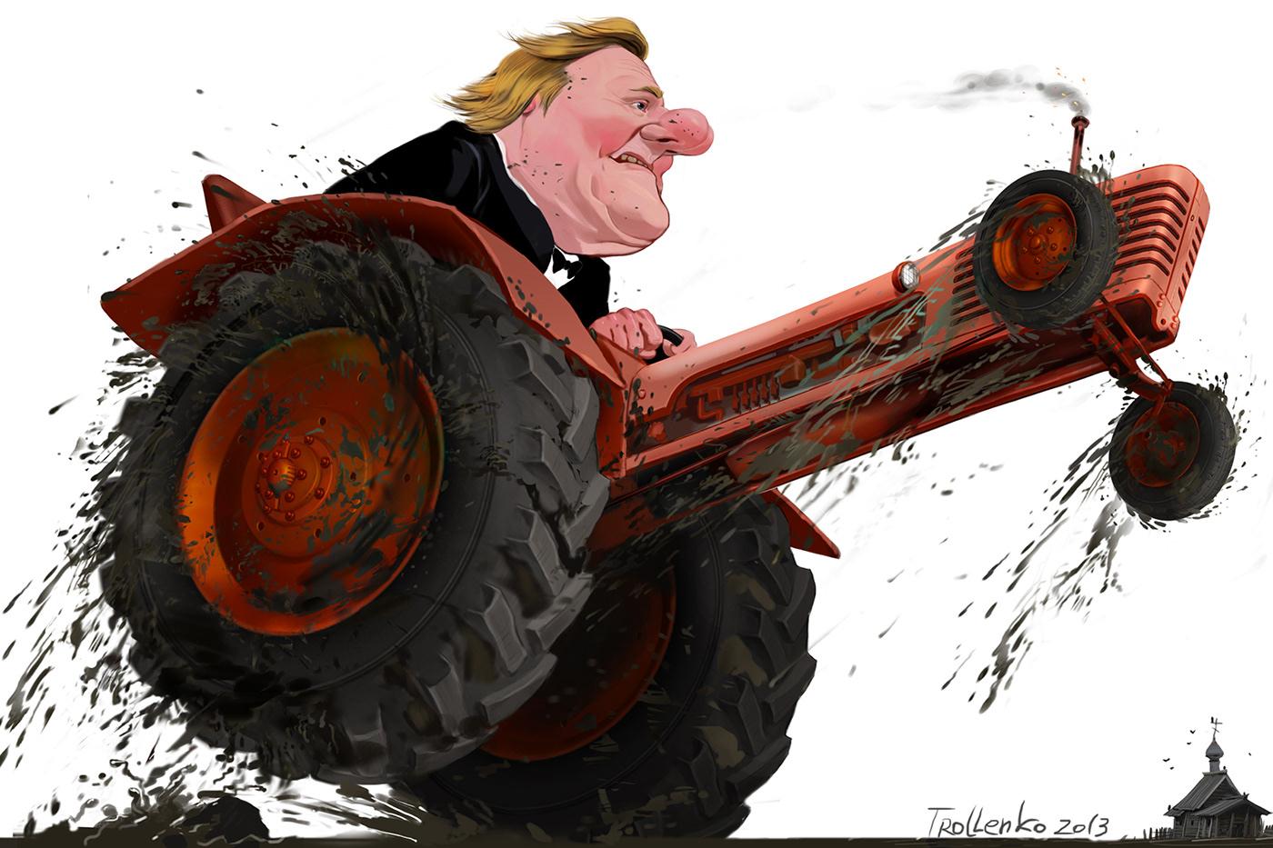 процессе операции ржачные картинки трактористов пускай