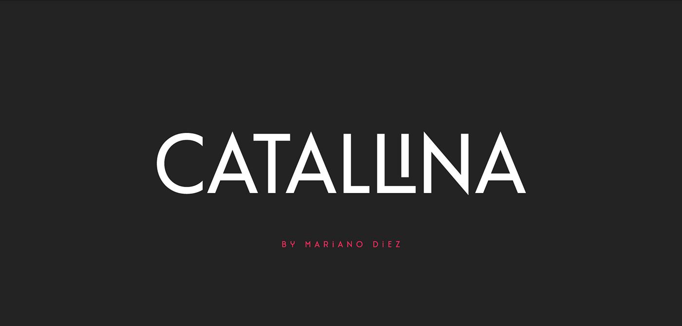 art deco Display font free Ligatures Typeface typography   uppercase sans serif