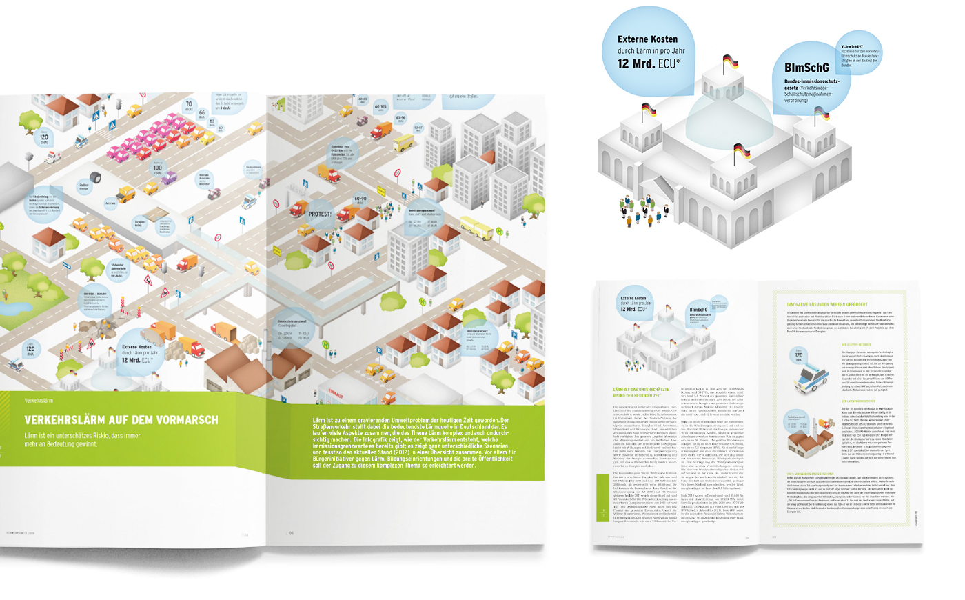 LARM Verkehr infografik stadt traffic noise paper