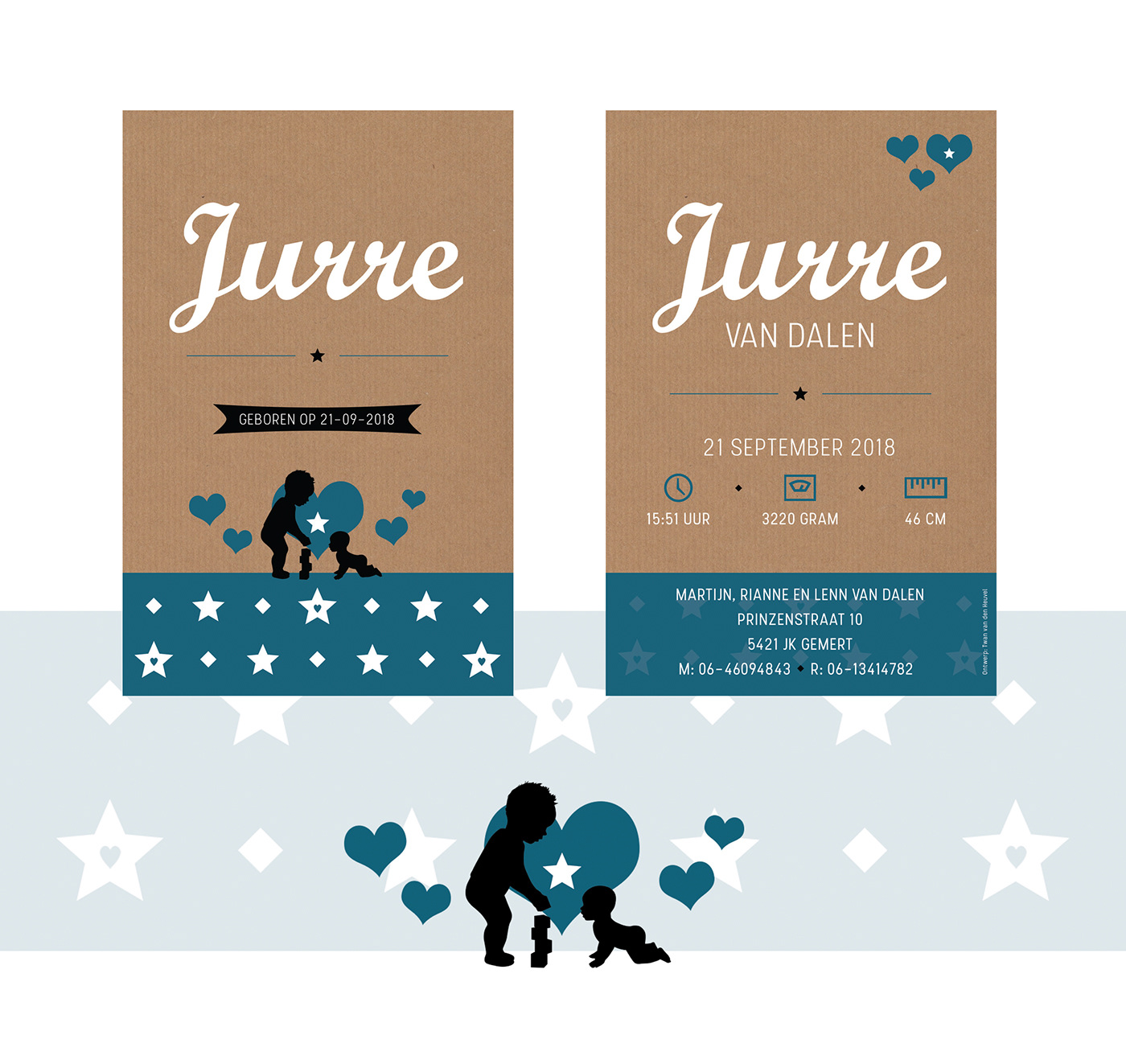 Adobe Portfolio design geboortekaartje illustratie uitnodiging Kaart bruiloft photoshop Illustrator InDesign