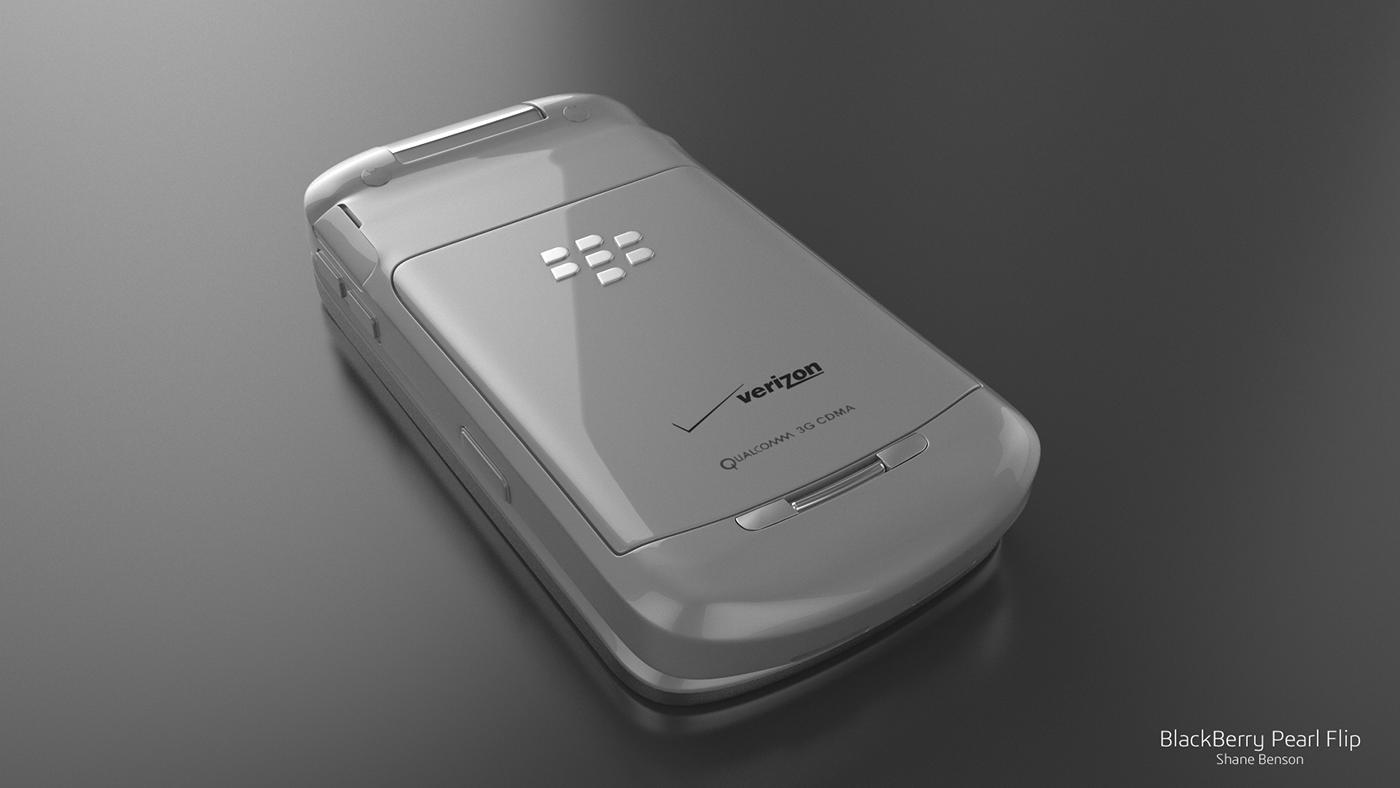 3D c4d cinema 4d vray blackberry verizon mobile phone
