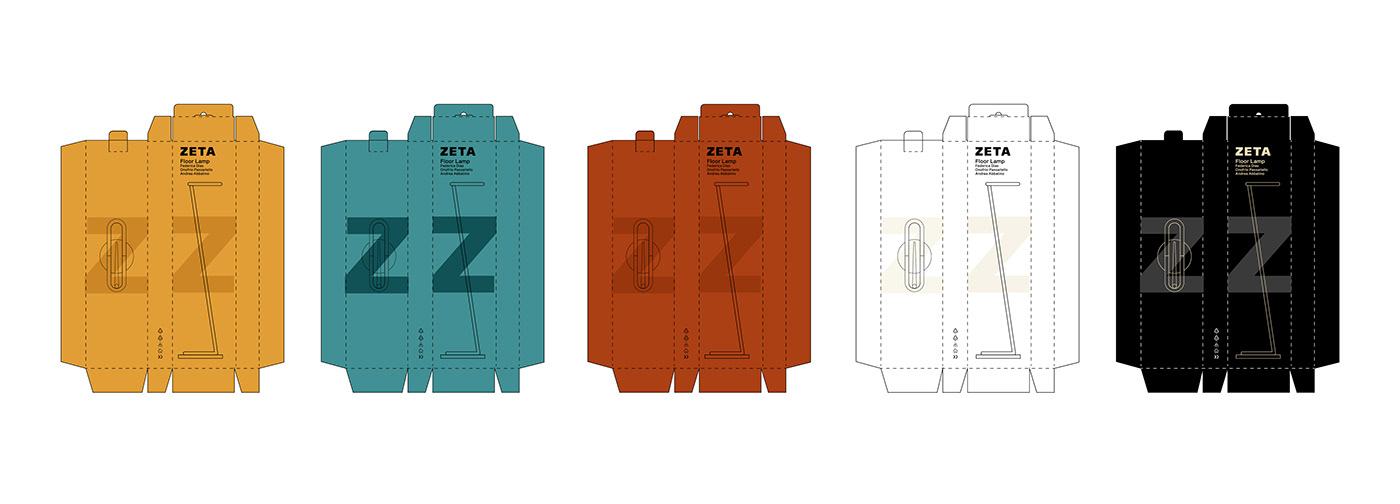 alphabet home industrial Interior Lamp light night light product product design  zeta