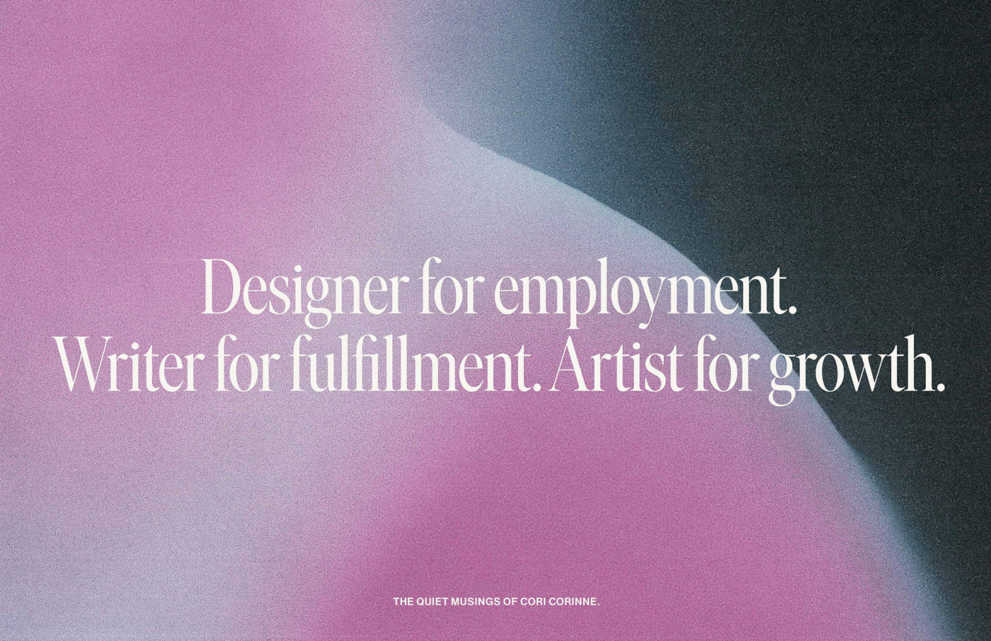 editorial design  gradient journal ongoing Poetry  portrait reflection typography   writing