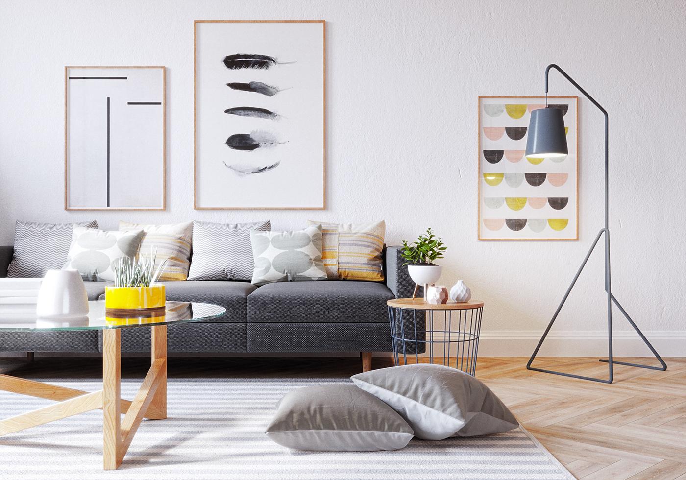 精緻的20套客廳主牆顏色欣賞