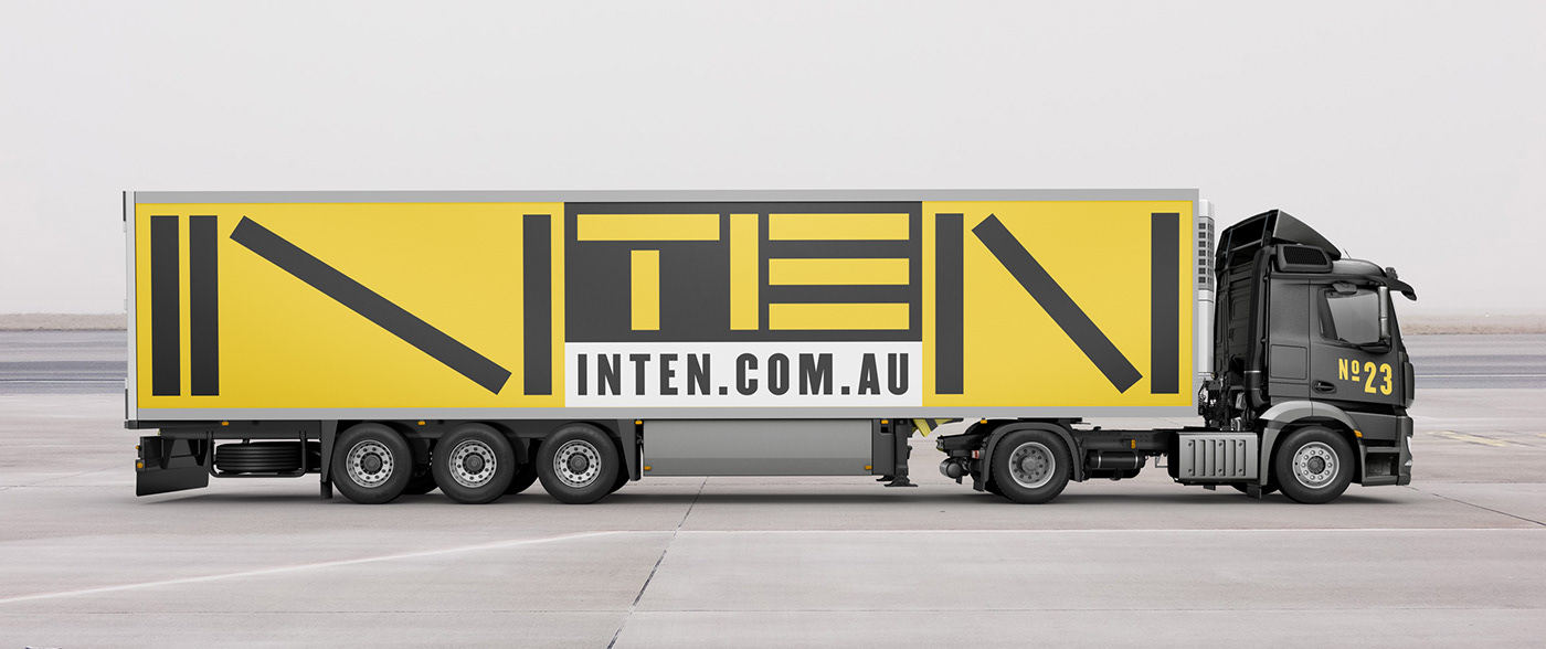 branding  typography   dynamic identity construction black and yellow
