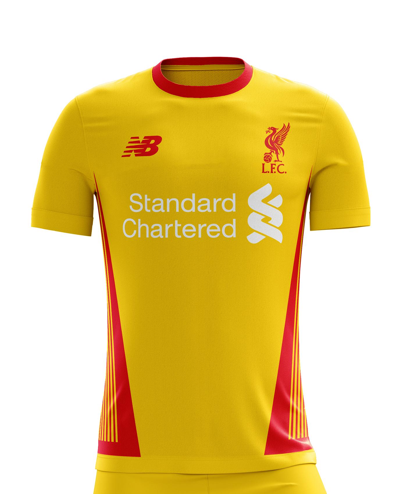 a639a2118 I designed football kits for FC Liverpool for the upcoming season 18 19.