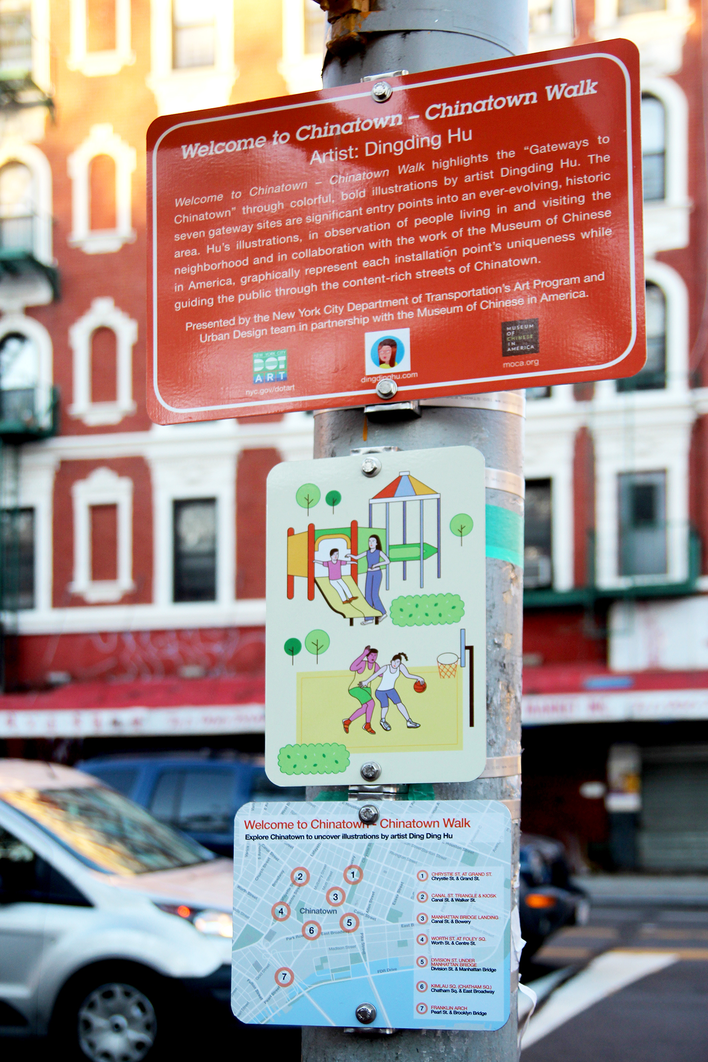 Chinatown Walk Signage Collection on Behance