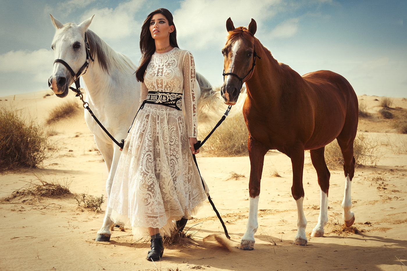 photographer,dubai,model,magazine,styling ,Adobe Photoshop,Nikon,editorial,Dior,horse