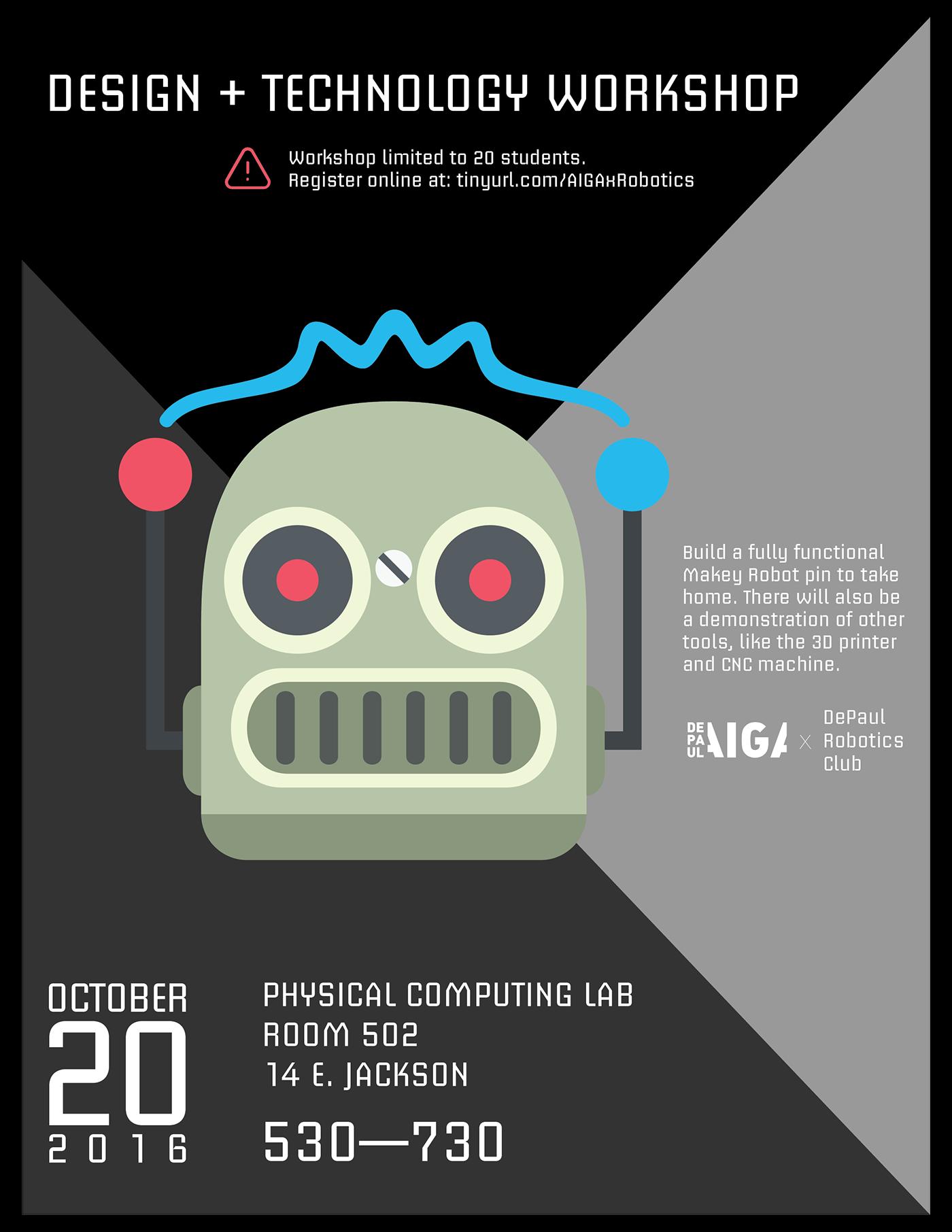 Design Technology Workshop Poster Design On Behance