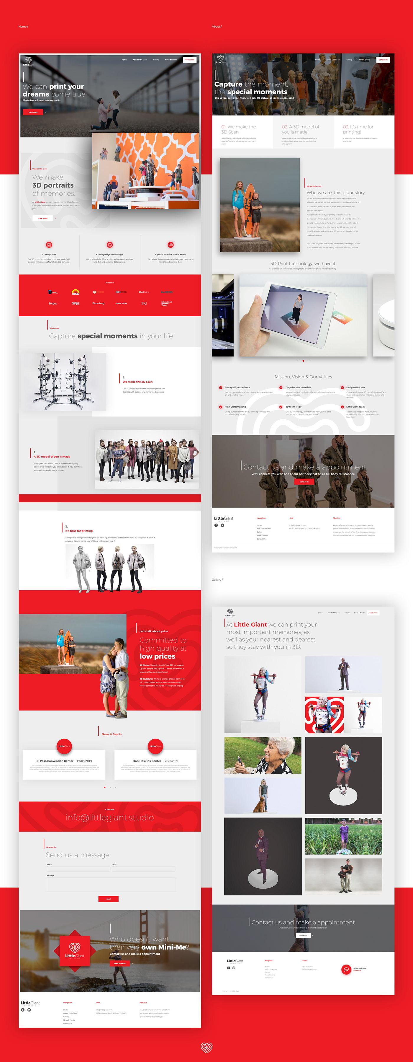 3d print el paso Little Giant nadyasonika Responsive Website