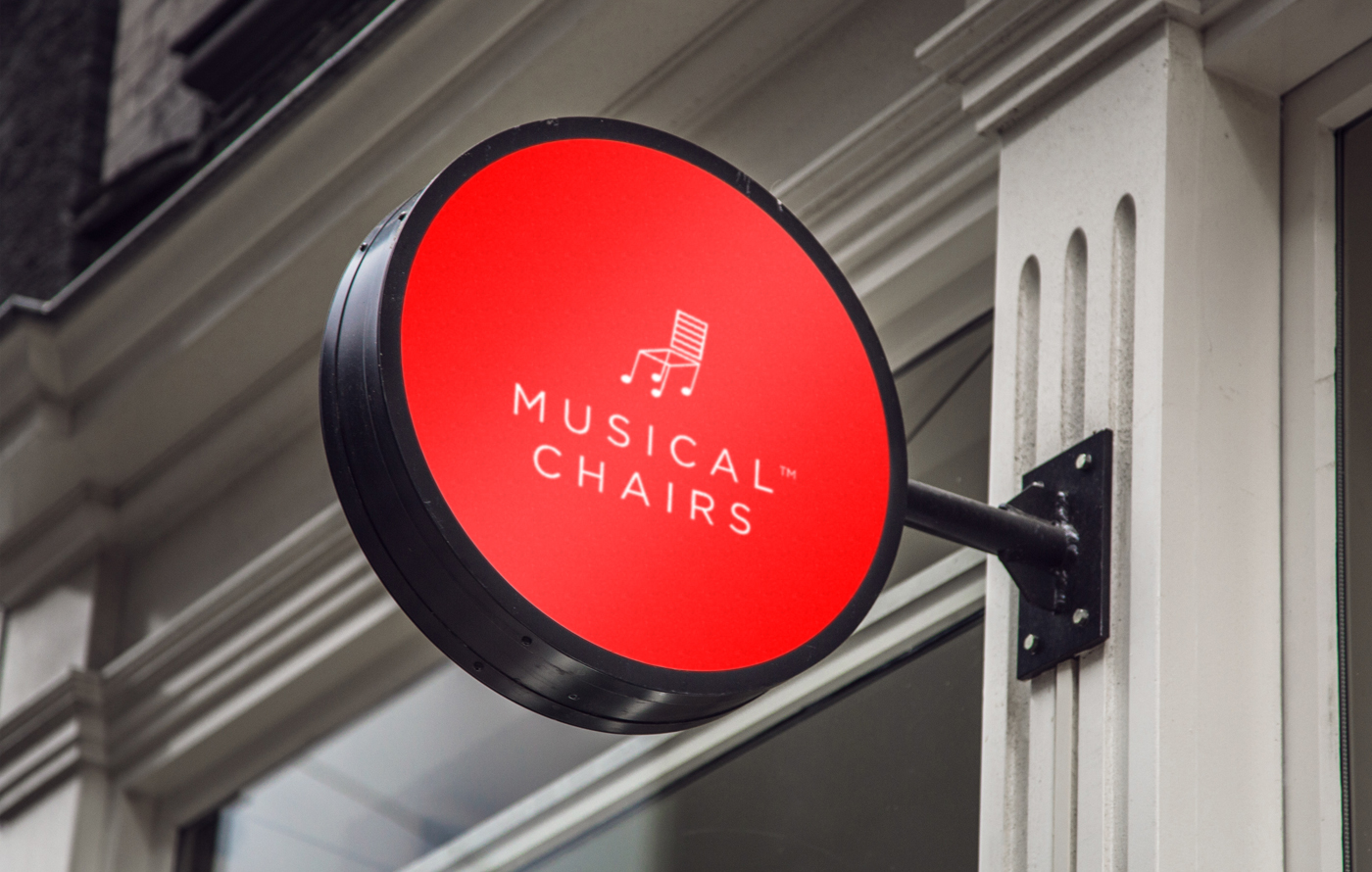 logo Musical chair musicalchairs furniture ecom decor